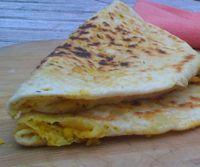 Dahl Puri - Indian Flatbread with Seasoned Split Peas - Recipe for Dahl Puri