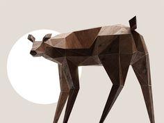 Olenishka Deer Chair
