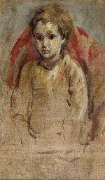 artist....Vanessa Bell  Amaryllis,  the artist's first grandchild