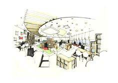 201206세아홀딩스5층북카페