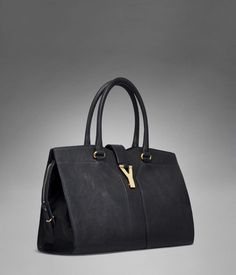 Check out YSL Muse Bowler Bag in Black Classic Leather at http ...