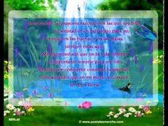 Video Postal de Amistad con Poema musical - YouTube