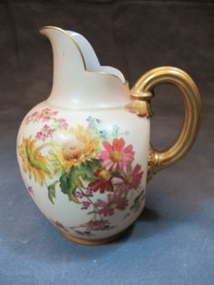 Antique Royal Worcester Pitcher 09788 | eBay