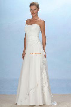 Scintillant & brillant Mousseline polyester Lacets Robes de mariée 2014