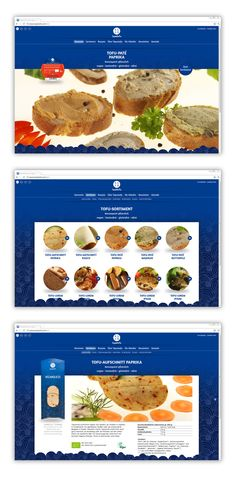#screendesign for topastofu, vegan food