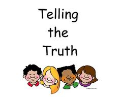 Telling the Truth Guidance lesson grades K-5 Activ Board flipchart for Promethean