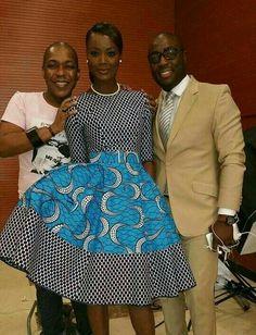 African Fashion – Designer Fashion Tips African Dresses For Women, African Print Dresses, African Print Fashion, Africa Fashion, African Attire, African Wear, Ethnic Fashion, African Women, Fashion Prints
