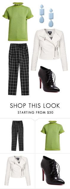 """""""NY Fashion"""" by lilllus09 on Polyvore featuring Shrimps, Barbour International and Miss Selfridge"""