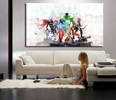 At Octo Treasures we specialize in high quality large panel wall canvas, purchase this amazing Marvel the Avengers super hero wall canvas today we will ship the canvas for free. This is the perfect center piece for your home. It is easy to assemble and hang the panels together which makes this a great gift for any Marvel super hero fans. The multi panel canvas is unique and creative, you and your guests will be amazed every time you enter the room. We offer professional packaging for every…