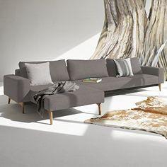 Innovation Schlafsofa mit Armlehnen und Holzbeinen Idun Lounger Textil grau Jetzt bestellen unter: http://www.woonio.de/p/innovation-schlafsofa-mit-armlehnen-und-holzbeinen-idun-lounger-textil-grau/