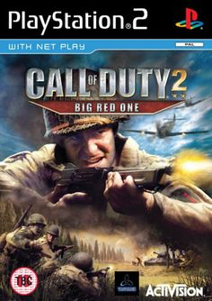 Call of Duty 2: The Big Red One (PS2) - http://www.cheaptohome.co.uk/call-of-duty-2-the-big-red-one-ps2/