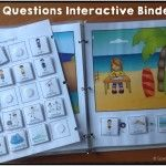 WH Questions Interactive Binder 2
