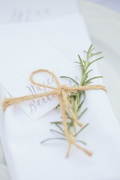 Rosemary details: http://www.stylemepretty.com/little-black-book-blog/2015/01/30/gastronomic-provencal-wedding-at-auberge-la-feniere/ | Photography: M&J - http://www.mandjphotos.com/