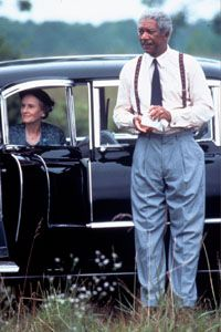 """driving miss daisy""  Morgan Freeman-Hoke Colburn  jessica tandy-miss daisy"