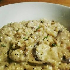Gombás gersli-rizottó Quinoa, Potato Salad, Main Dishes, Healthy Recipes, Healthy Food, Food And Drink, Potatoes, Cooking, Ethnic Recipes