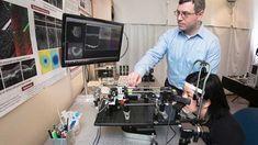 Retinal imaging scanner the size of a shoebox, creates a Google like map of the #Retina   @SFU #Innovation #AMD