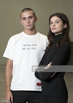 Singer Felix Sandman and actress Hanna Ardéhn poses for a portrait. International Film Festival, White Man, Pose Reference, My Man, Feminism, Sweden, How To Look Better, Crushes, Alternative
