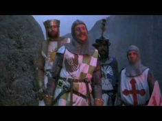 Bridge of Death - Monty Python, Holy Grail. I'm not sure how, be we seems to work lines from this scene into everyday conversation.