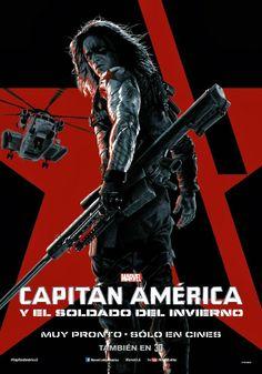 Poster do Soldado Invernal para o filme: Capitão América - O Soldado Invernal.