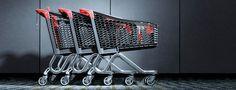 Plastové nákupní vozíky Wanzl Tango City