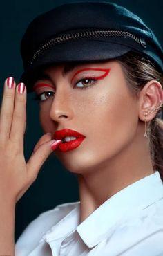Red + Sparkles is a dangerous combination, but with the right heels & nail polish, it's a guaranteed deal closer. #lipstick #lipstickaddict #lipstickaddiction #cosmetics #lip #instamakeup #makeupaddict