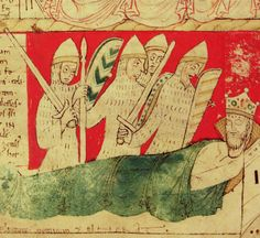 Detail from Medieval manuscripts  British library .typepad.co.uk The Nightmares of Henry I, by John of worcester (Worcester Cathedral Priory, 12th century): Oxford, Corpus Christi College, MS 157, p.