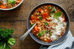Tuscan Farro Soup Recipe - NYT Cooking