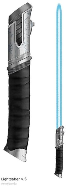 Lightsaber v.6 Elven by Ariergarda.deviantart.com on @deviantART