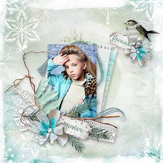 Frozen Winter { Mini Kit } Florju Designs http://digital-crea.fr/shop/index.php… Karina Egorova - Lovely Karina use with Permission