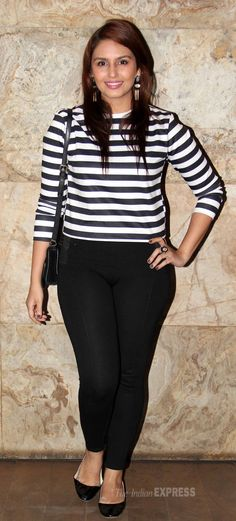 Huma Qureshi at the screening of Queen. #Style #Bollywood #Fashion #Beauty