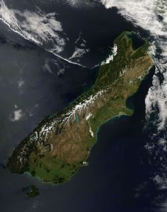 Whole South Island from Space