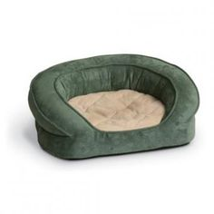 K&H Pet Products Deluxe Ortho Bolster Sleeper Pet Bed Large Green Paw Print Dog Kennels For Sale, Diy Dog Kennel, Large Dog Crate, Large Dogs, Dog Kennel Designs, Airline Pet Carrier, Cool Dog Houses, Bolster Dog Bed, Pet Beds