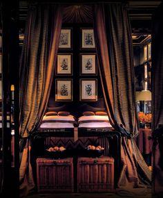 Blakes Hotel London by Anouska Hempel #interiordesign - More wonders at www.francescocatalano.it
