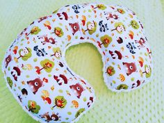 Hey, I found this really awesome Etsy listing at https://www.etsy.com/listing/225016274/baby-boy-woodland-animal-boppy-pillow