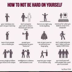 12 Ways on How Not to be Hard on Yourself