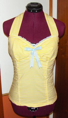 (Afternoon) Tea Top Free Pattern; possible top for a circle-skirt bottomed dress