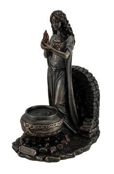 Brigid Goddess of Hearth & Home Statue