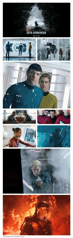 Star Trek Into Darkness. I am so excited for this movie!