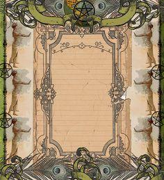 Peacock Goddess Page by *grimdeva on deviantART