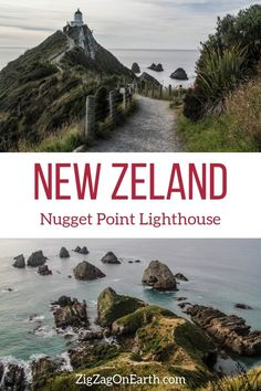 New Zealand Travel Guide – Discover the Nugget Point Lighthouse headland (with photos) | #newzealand | Things to do in New Zealand South Island | New Zealand photography | New Zealand Road Trip | New Zealand scenery | New Zealand travel tips | New Zealand itinerary | #Travel | Travel Inspiration | Scenery & Wanderlust | Best Travel destinations