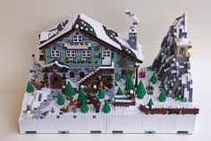 Mod G1 H1 - Winter Chalet 01 | Flickr - Photo Sharing!