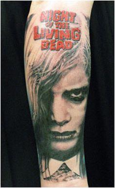 Horror Tattoos night of the living dead http://www.shadedtattoos.com/