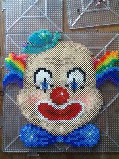 ZombieLolitaprincess - Creepy Clown perler (reference)