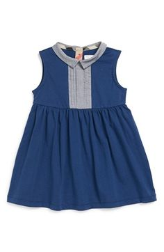 Burberry 'Danika' Cotton Dress (Baby Girls) available at #Nordstrom Love it...but not the price
