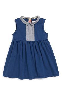 Burberry Sleeveless Cotton Dress (Toddler Girls) | Nordstrom