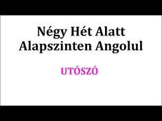 Könnyen, Gyorsan Angolul 1-106. nap - YouTube Nap, Cards Against Humanity, English, Youtube, Education, Kitchen, Cooking, Kitchens, English Language
