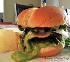 Mamás Latinas en USA // Cocinar,comer y compartir: Avocado & Mushroom Burger