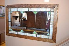 M2 Arts and Crafts Mission Oak Mirror / Quarter by OakParkAntiques, $245.00