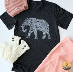 These trendy Elephant Tees are perfect for Fall! Anyway you where these…