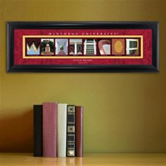 College Campus Art - Winthrop University Free Personalization – GiftsEngraved